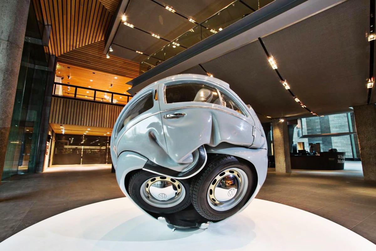VW Beetle sphere 3