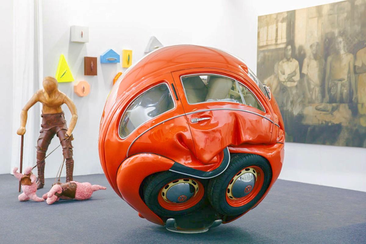 VW Beetle sphere 4