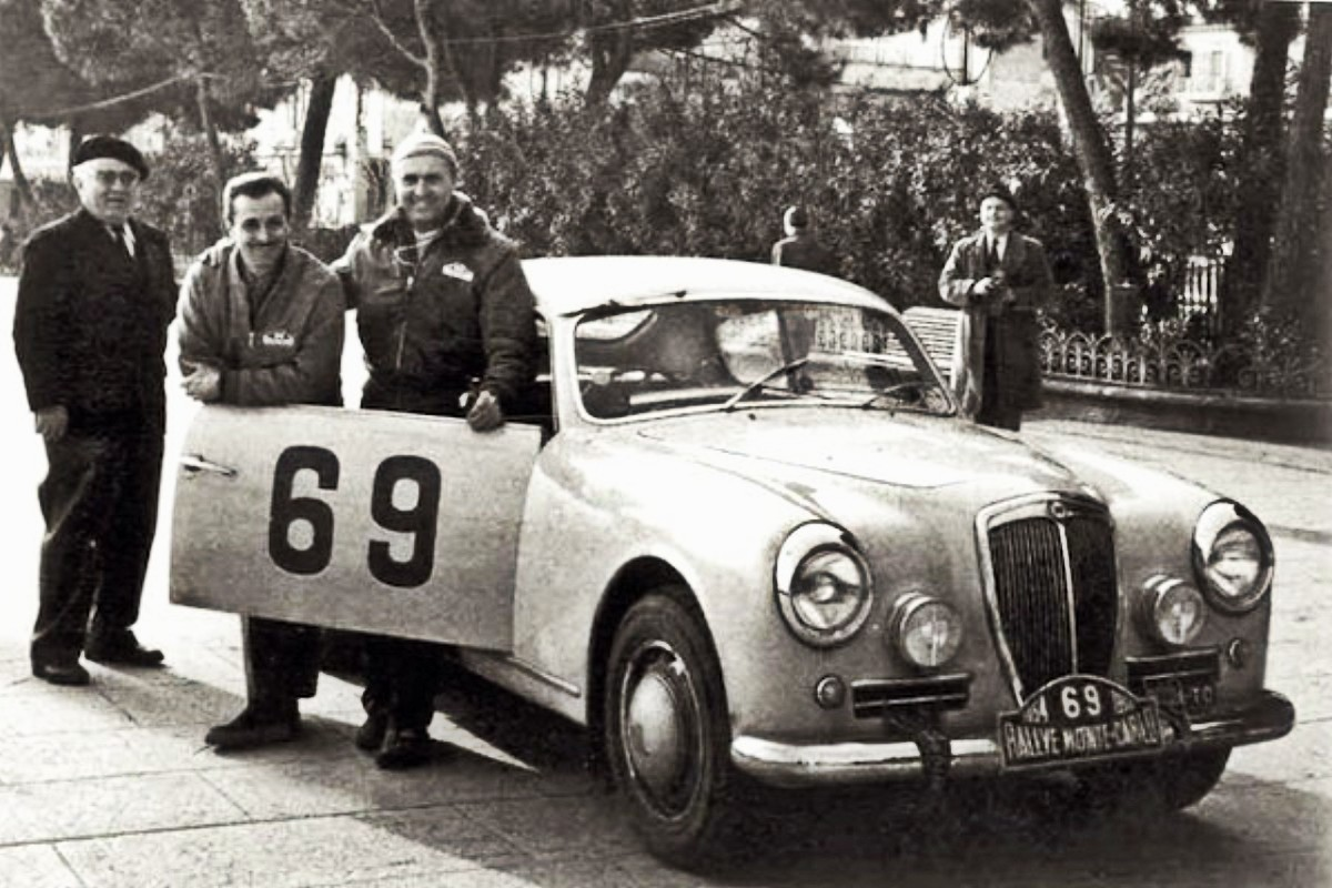 Victory went to Louis Chiron and Ciro Basadonna in the 1954 Monte Carlo Rally