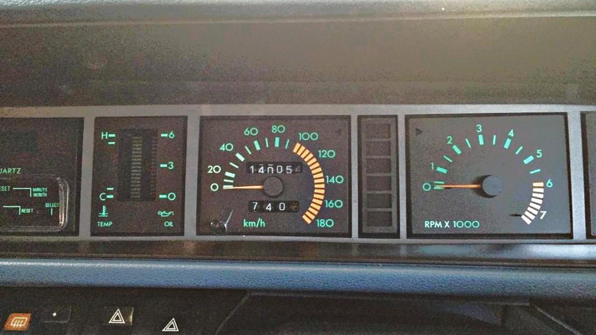 ZT7DLKSY 1980s Nissan Bluebird TR X sedan 3
