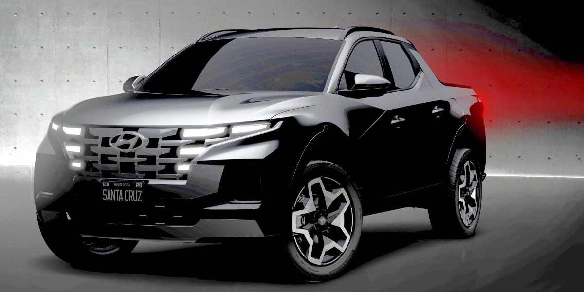 cPf4YYRb Hyundai Santa Cruz ute tease 1