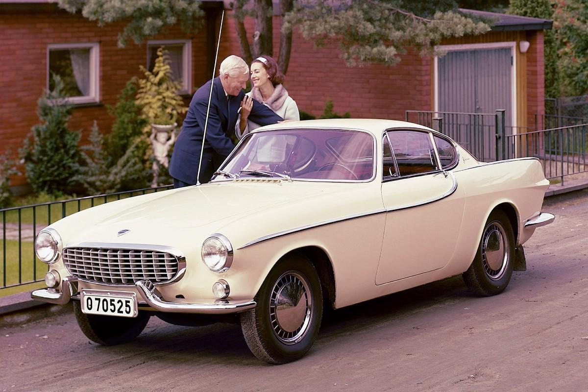 1961 Volvo P1800 8