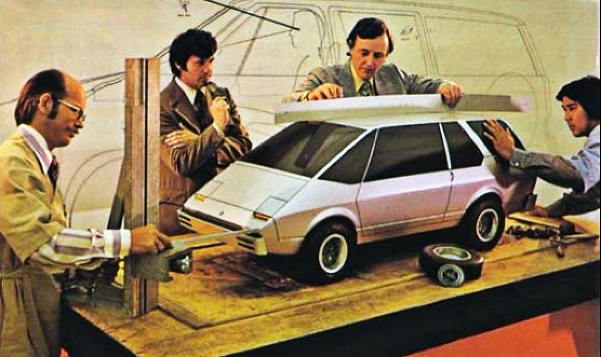 1972 First Chrysler minivan design proposal