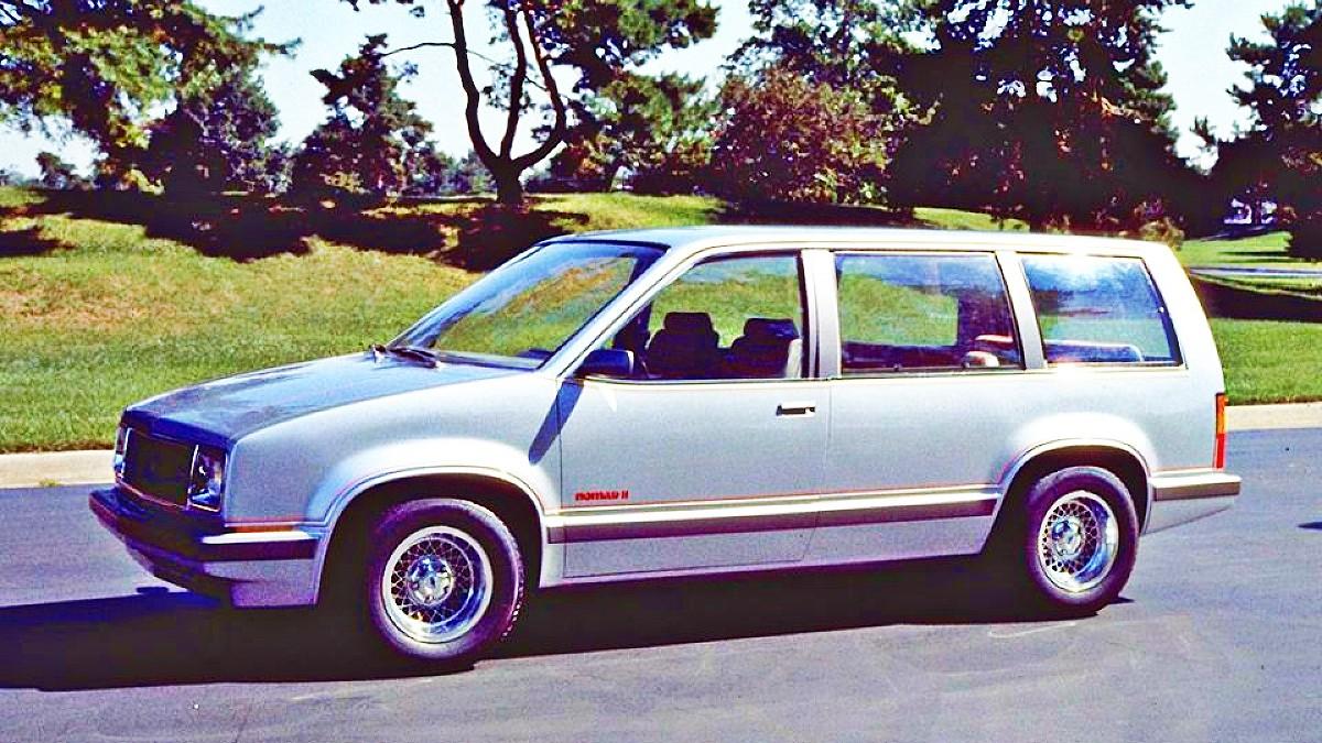 1979 GM Nomad minivan concept