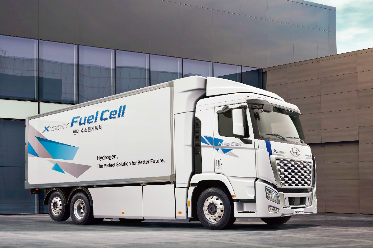 2021 Hyundai XCIENT Fuel Cell Truck 4