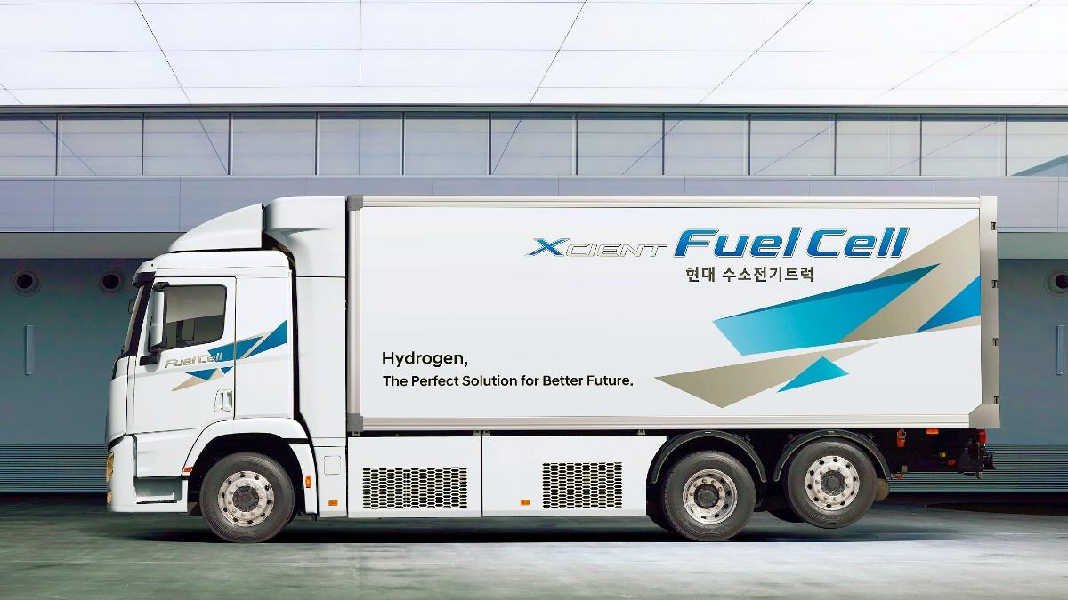 2021 Hyundai XCIENT Fuel Cell Truck 5