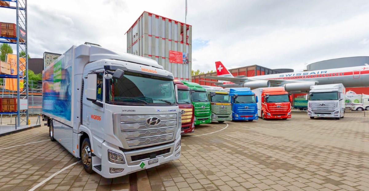 2021 Hyundai XCIENT Fuel Cell Truck 7