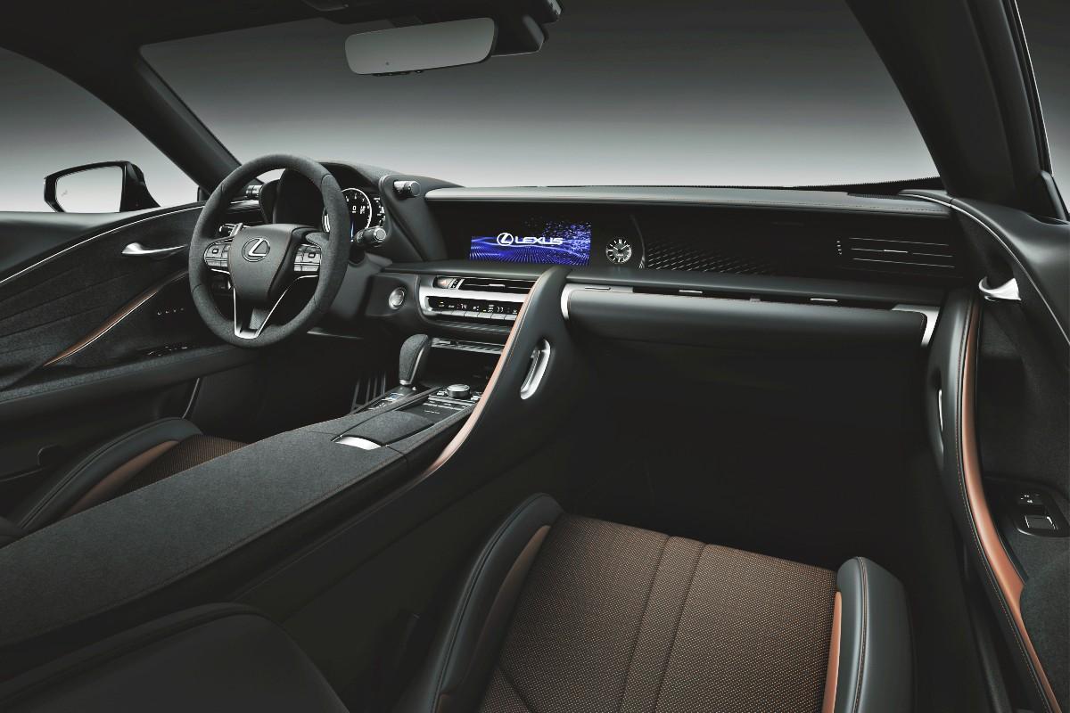 2021 Lexus LC Inspiration Series 3