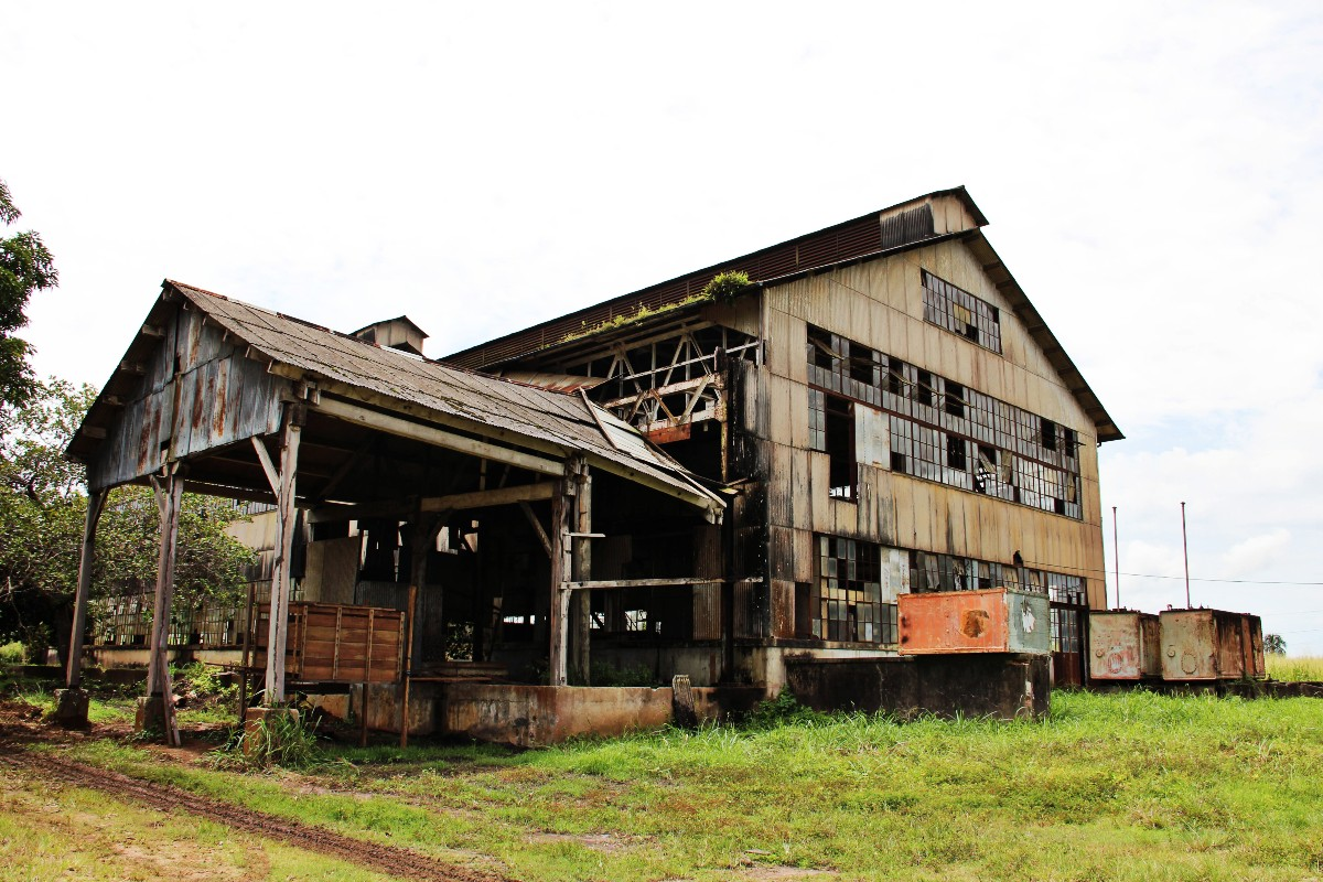 Fordlandia ghost town front office