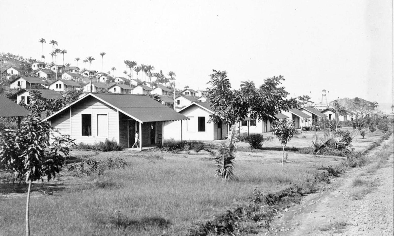 Fordlandia ghost town housing