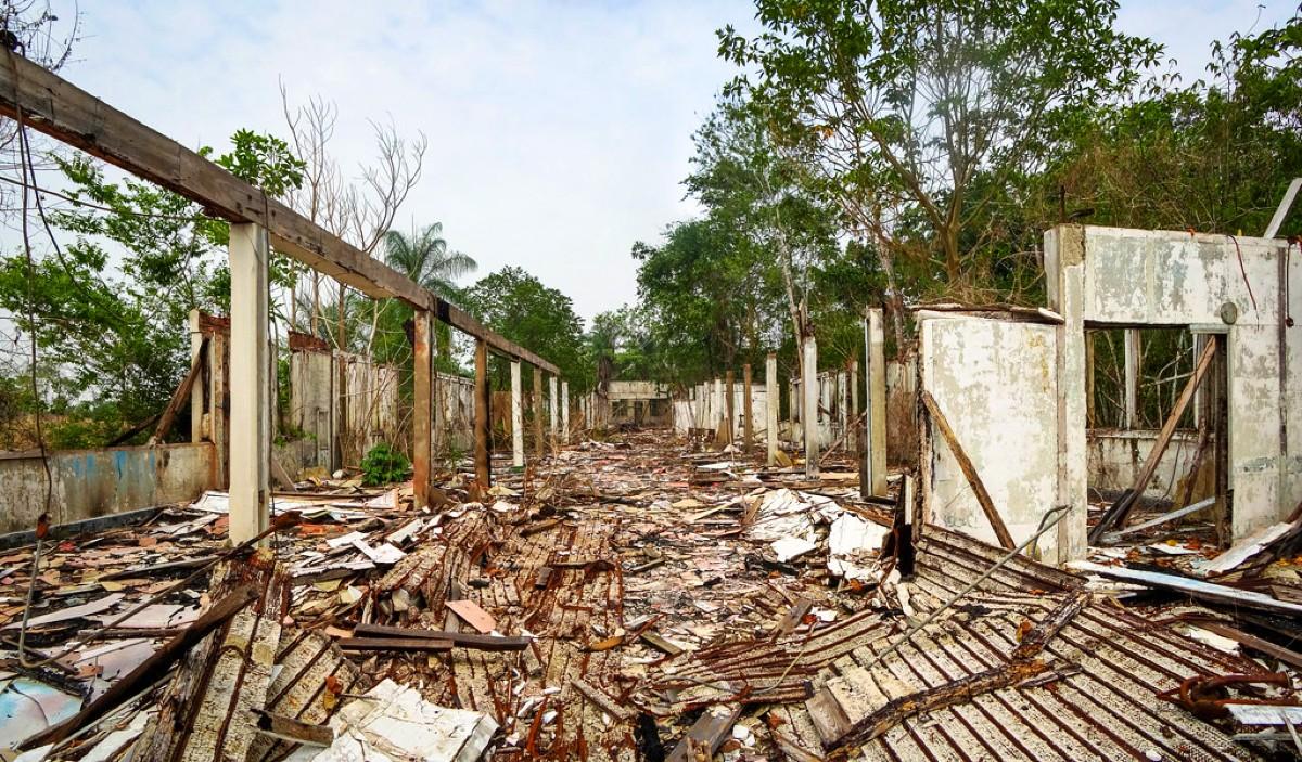 Fordlandia ghost town ruins