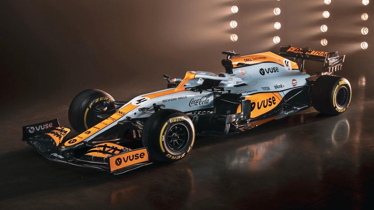 Gulf McLaren 8