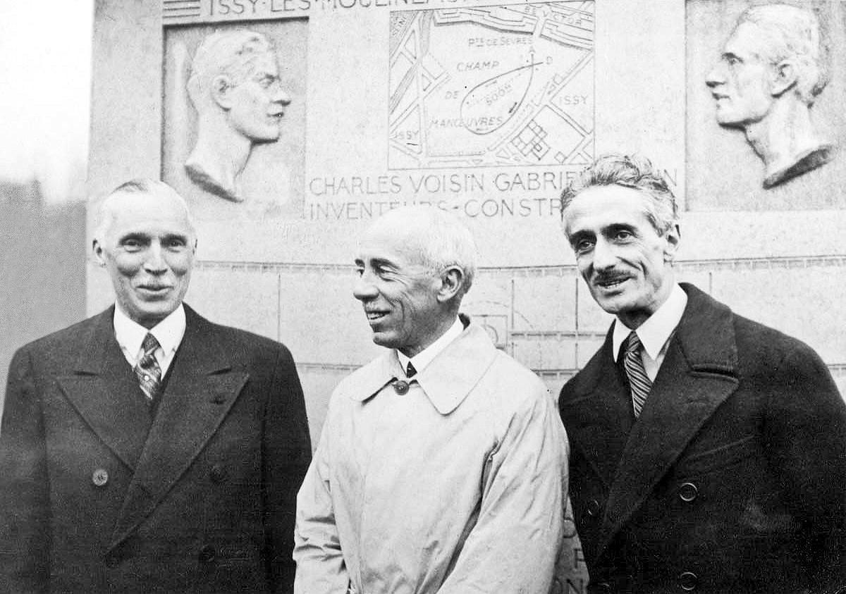 Henry Maurice and Dick Farman