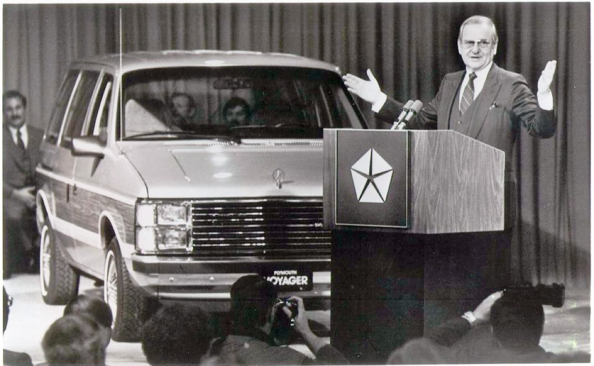 1983 Minivan launch
