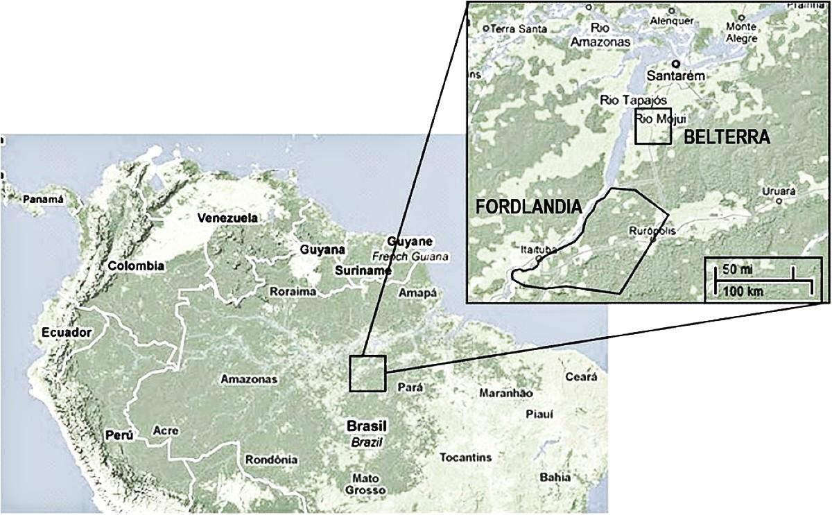 fordlandia map