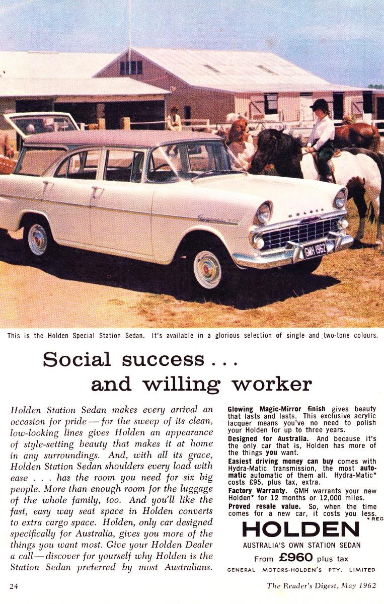 1961 EK Holden 7