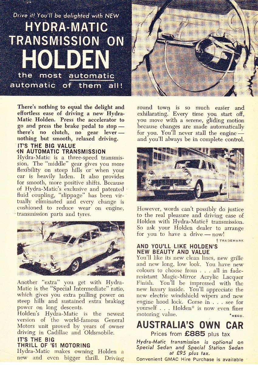 1961 EK Holden 8