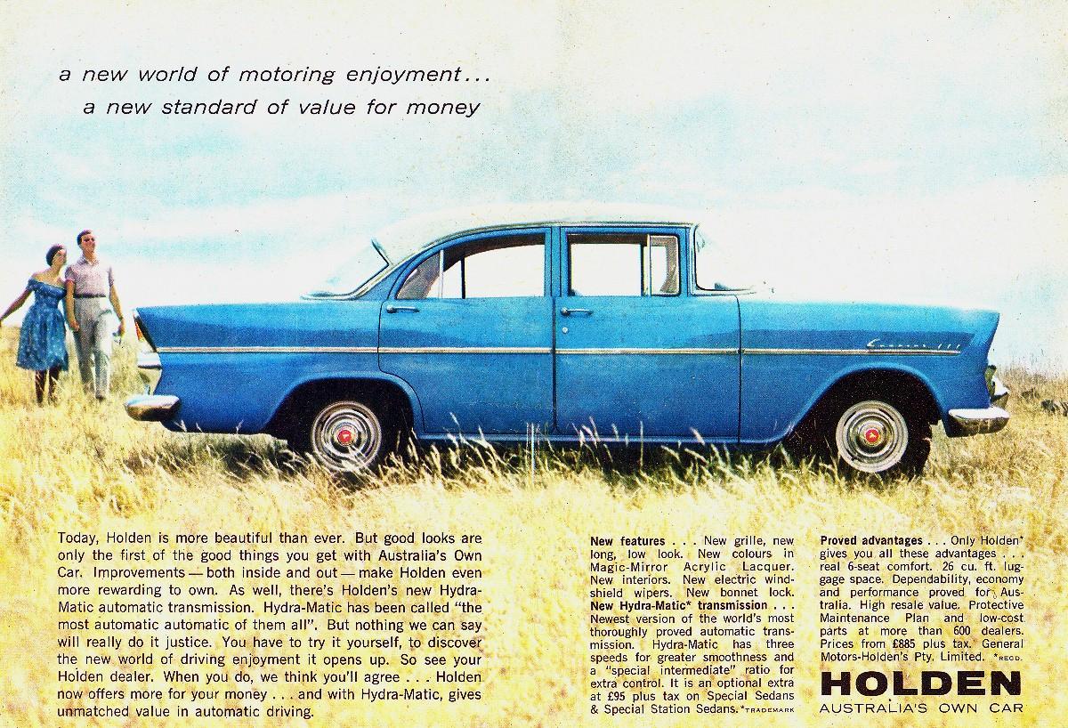 1961 EK Holden 9