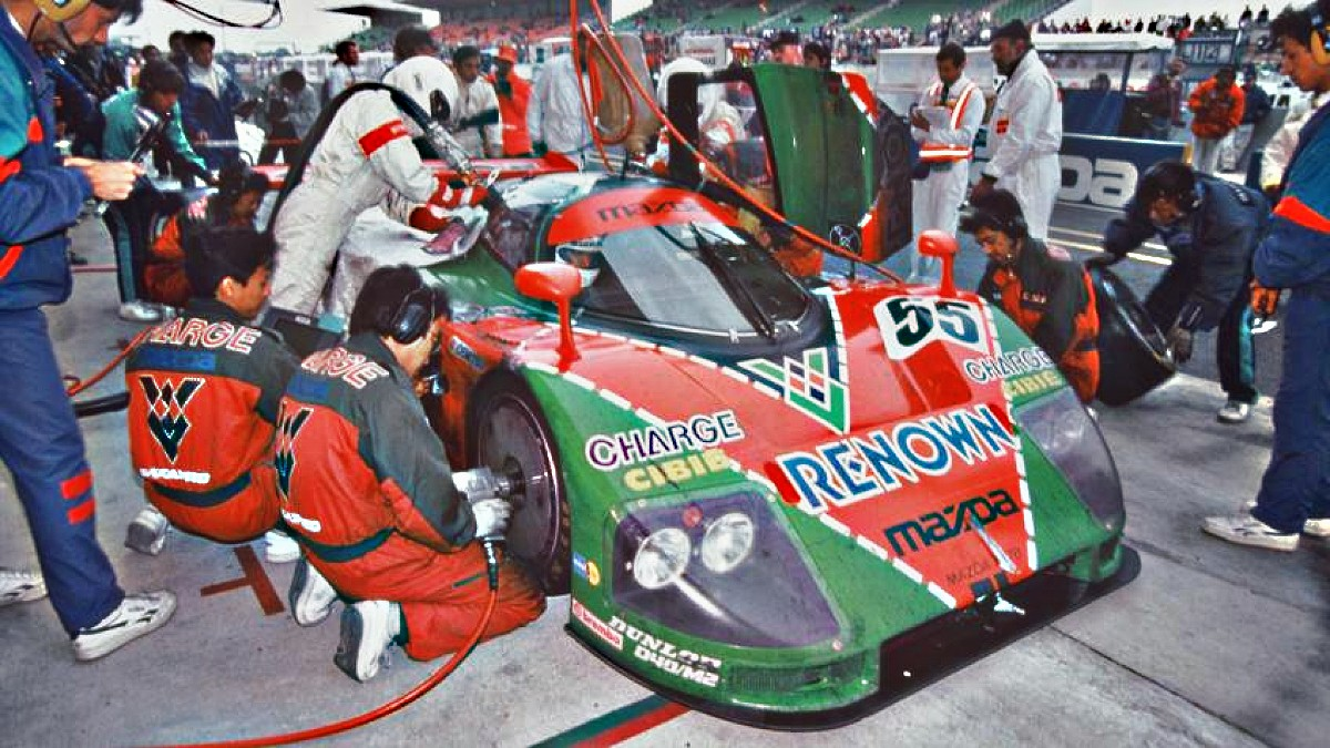 1991 Mazda Le Mans 3