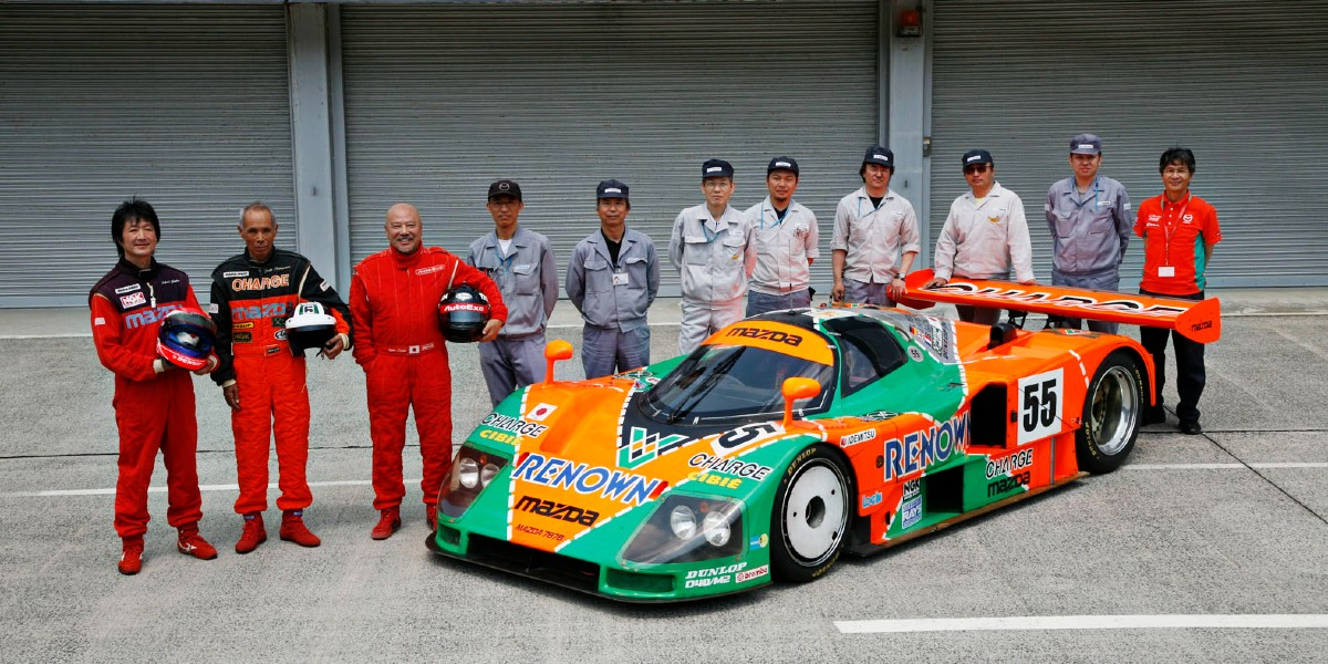1991 Mazda Le Mans 8