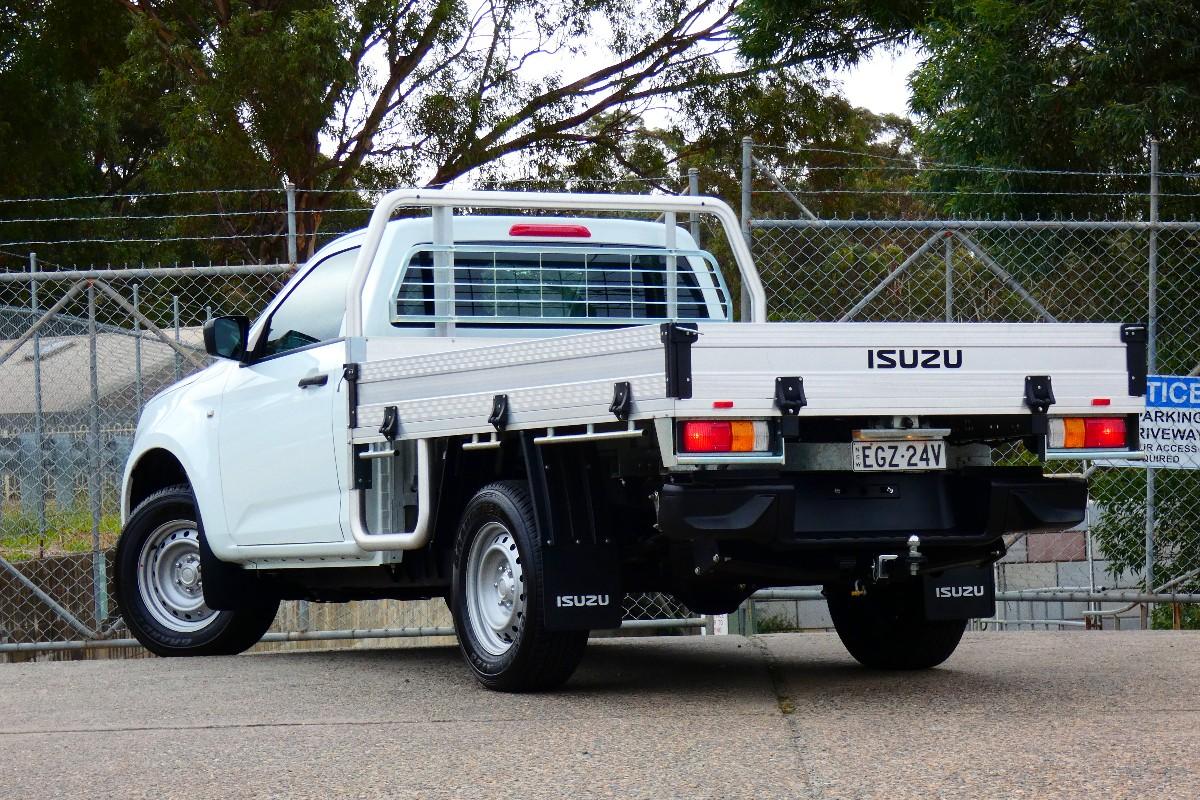 2021 Isuzu D MAX SX Single Cab Chassis 4x2 13
