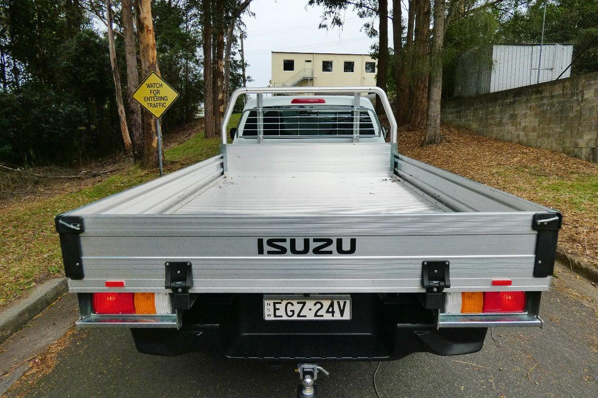 2021 Isuzu D MAX SX Single Cab Chassis 4x2 5