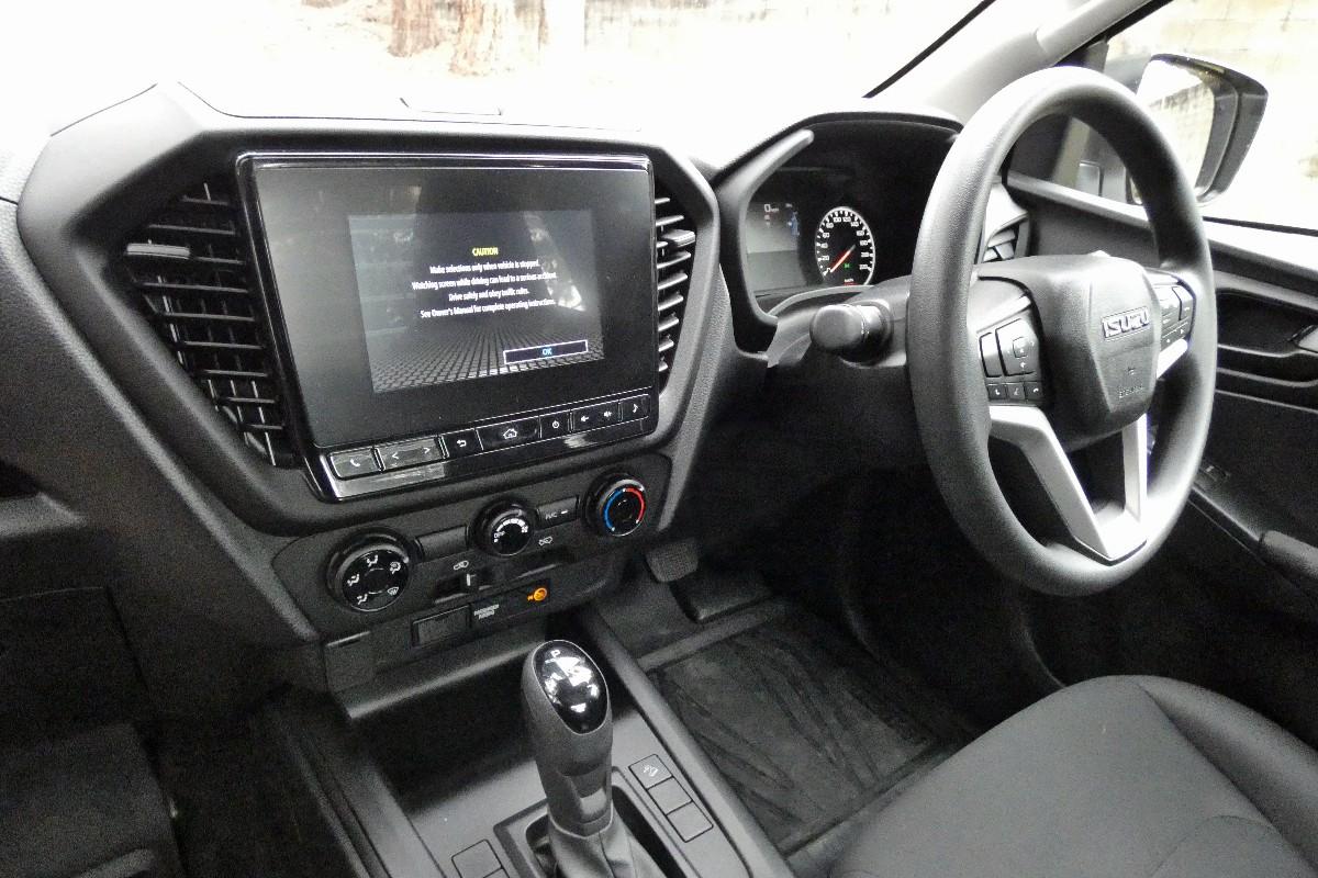 2021 Isuzu D MAX SX Single Cab Chassis 4x2 7
