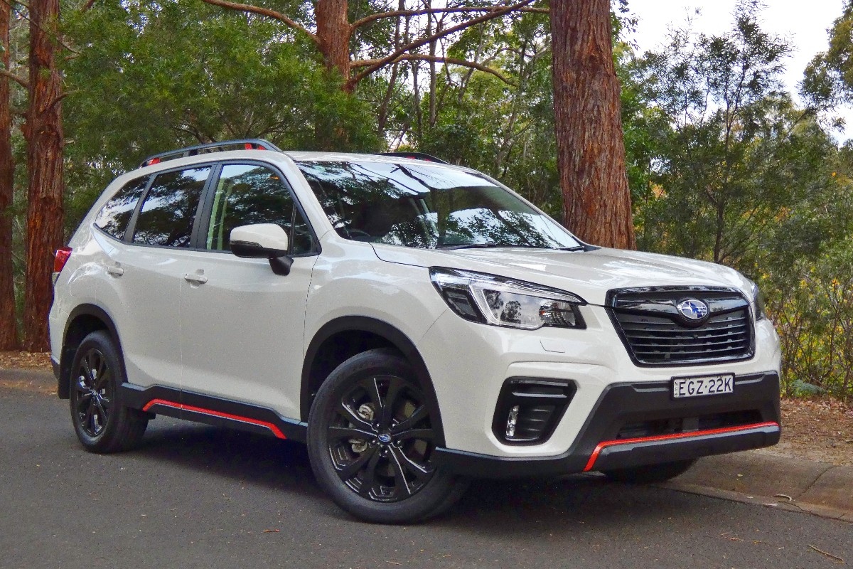 2021 Subaru Forester 2.5i Sport 9