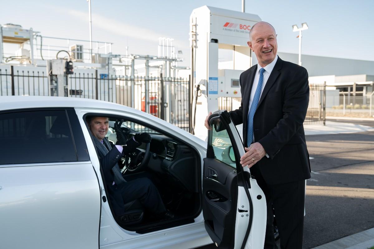 2021 Toyota Mirai FCEV to CSIRO 10