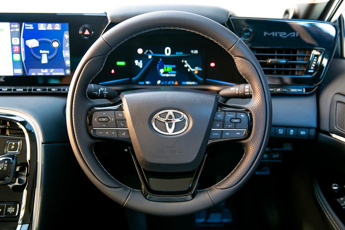 2021 Toyota Mirai FCEV to CSIRO 2