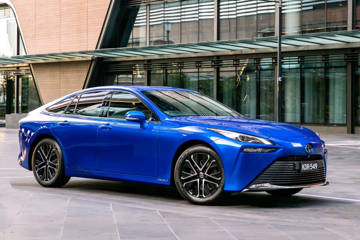 2021 Toyota Mirai FCEV to CSIRO 3