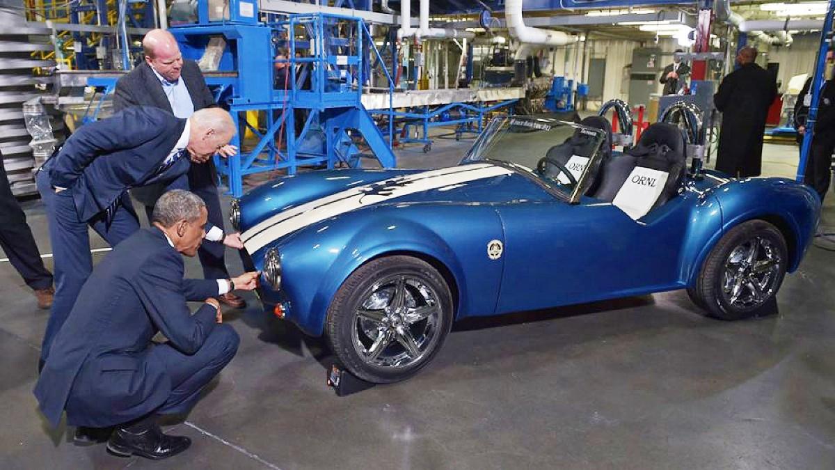 3D printed Shelby Cobra 2