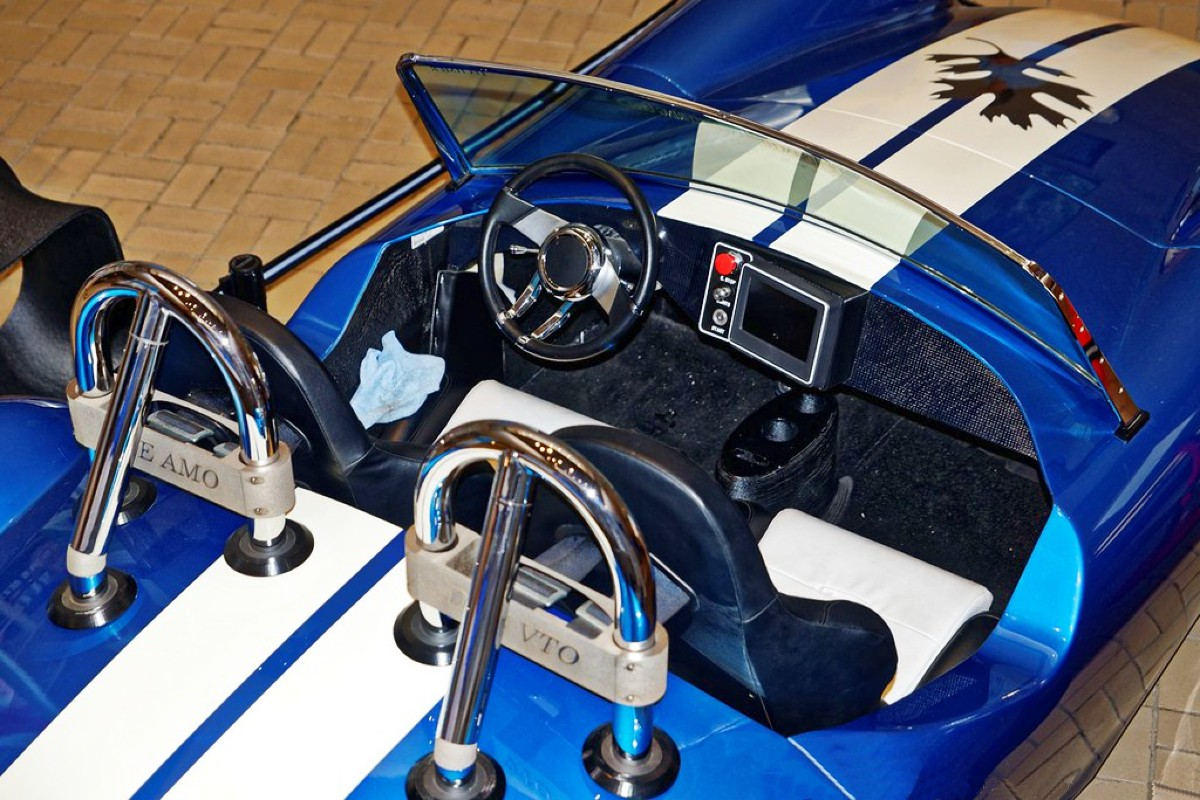 3D printed Shelby Cobra 3