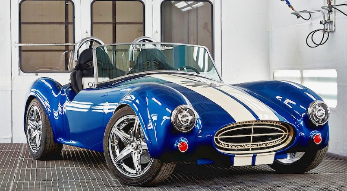 3D printed Shelby Cobra 4