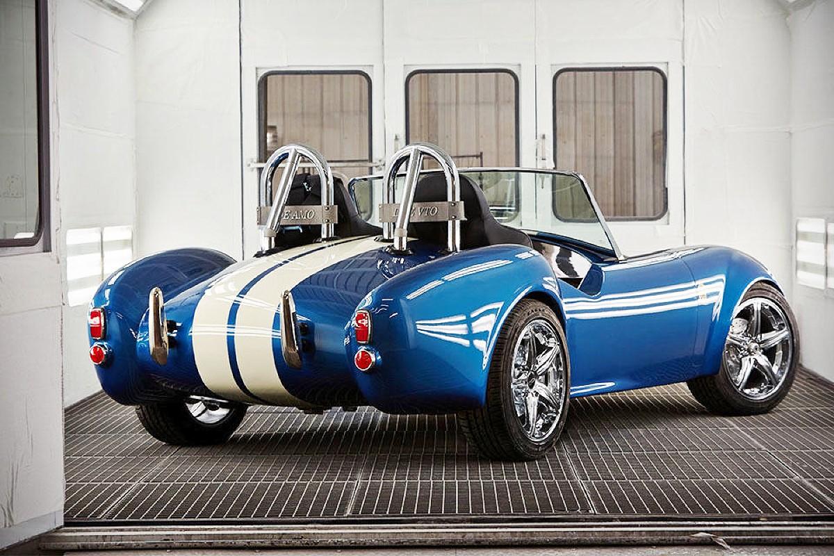 3D printed Shelby Cobra 5