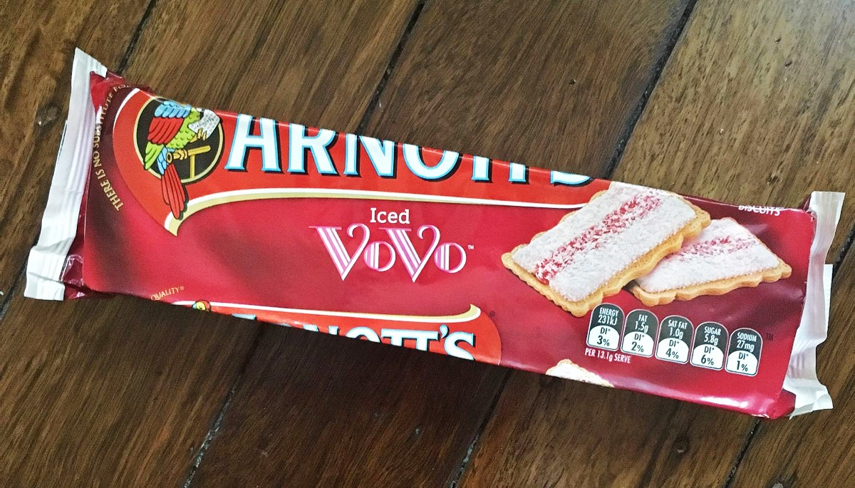 Arnotts Iced VoVo biscuits 1