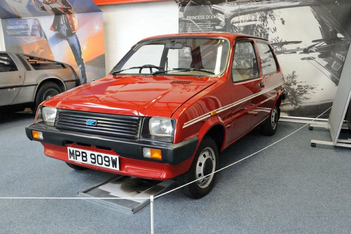 First car a 1980 998cc Austin Mini Metro L