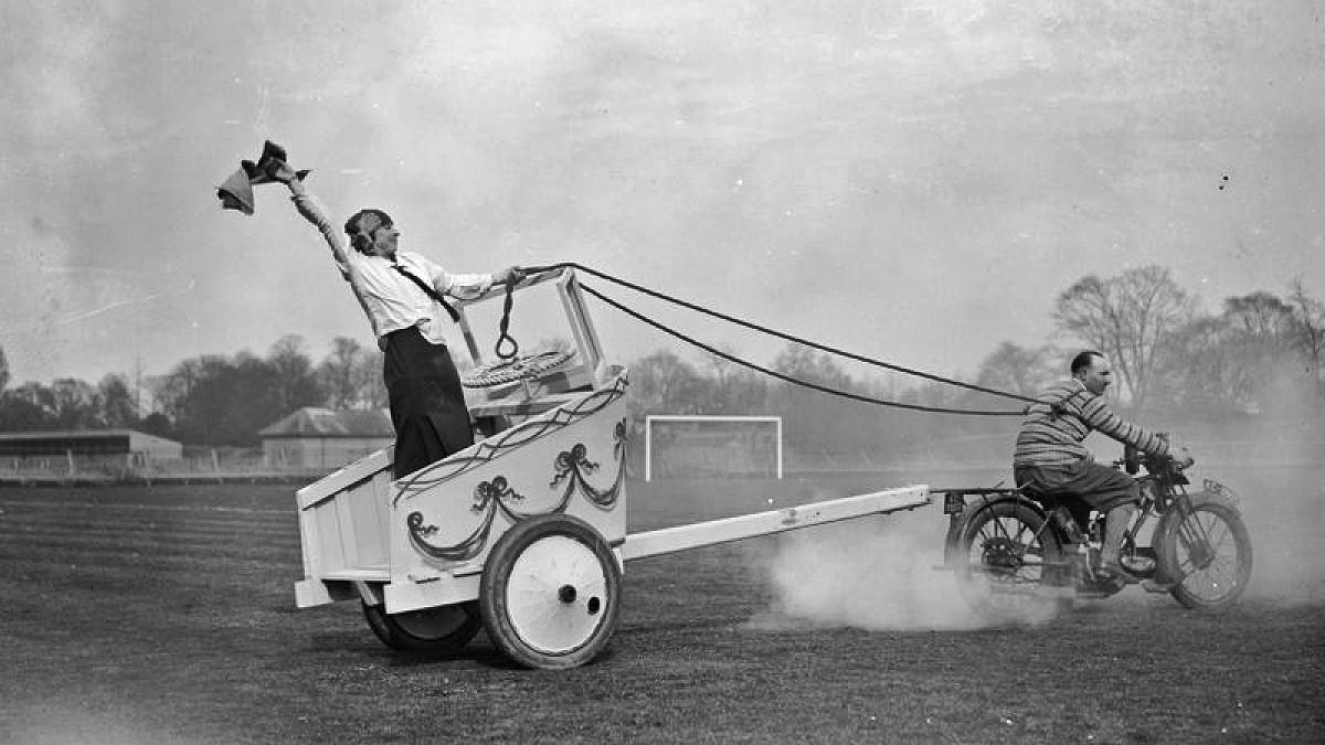Football ground London1927