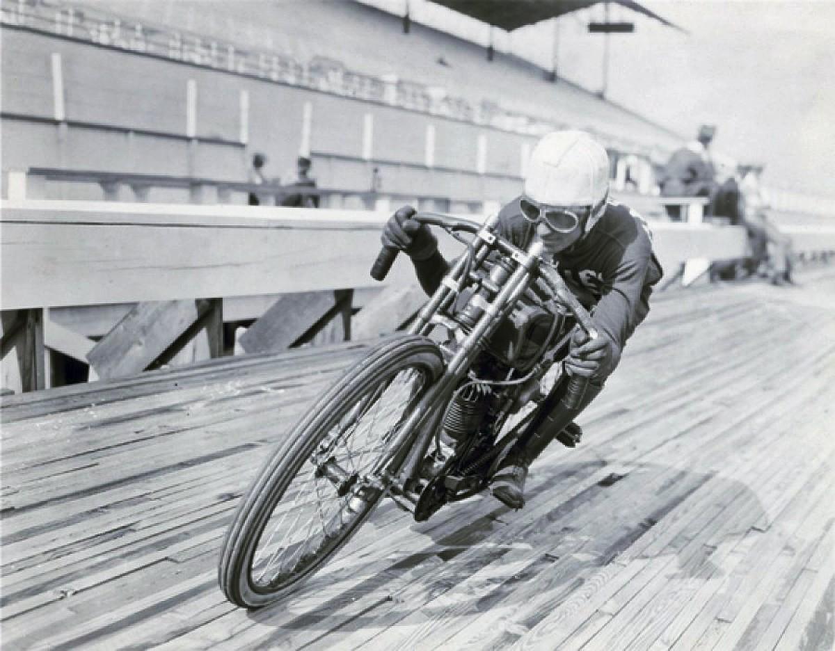 Harley museum board track