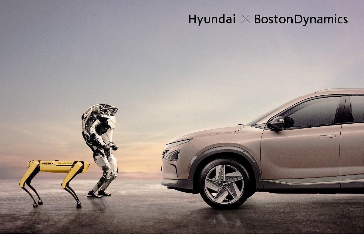 Hyundai buys Boston Dynamics 1