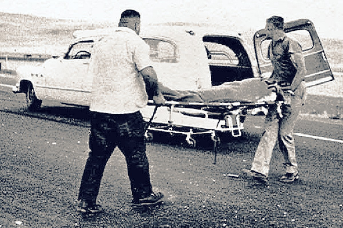 James Dean crash scene