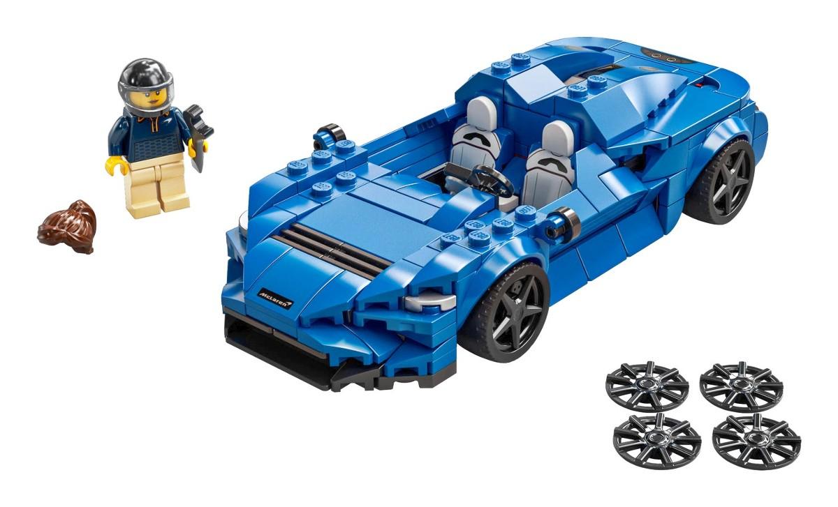 Lego Speed Champions McLaren Elva 7