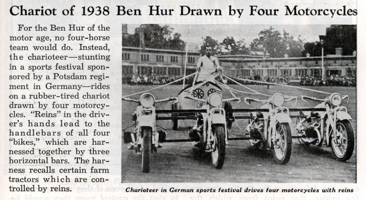 Motorcycle Chariot Racing Germany