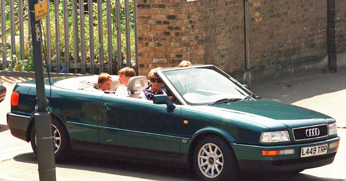 Princess Diana Ford Escort 2