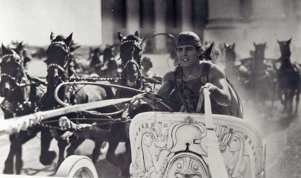 Ramon Novarro in Ben Hur 1925