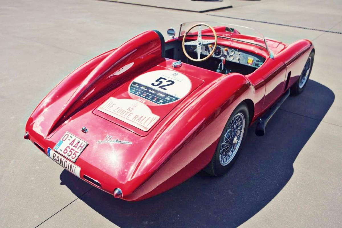 1957 Bandini 750 Sport Internazionale Saponetta 1