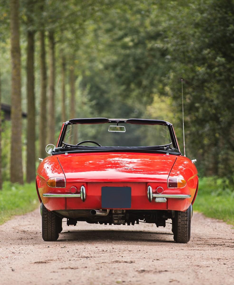 1966 Alfa Romeo 1600 Spider 3