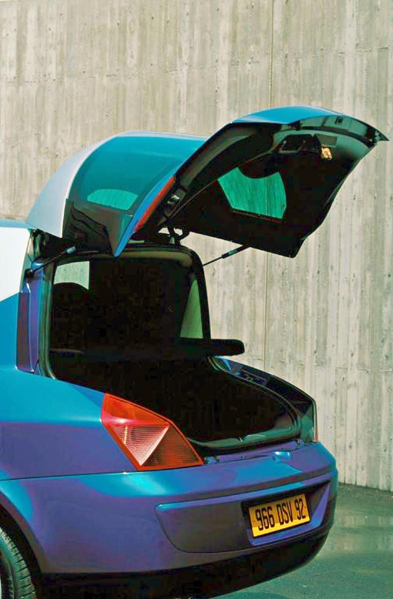 2001 Renault Avantime tailgate