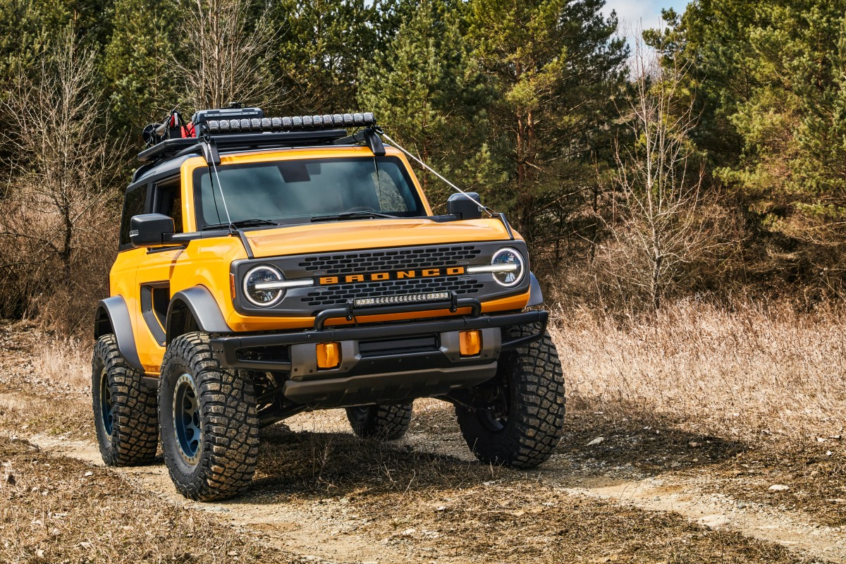 2021 Ford Bronco 7