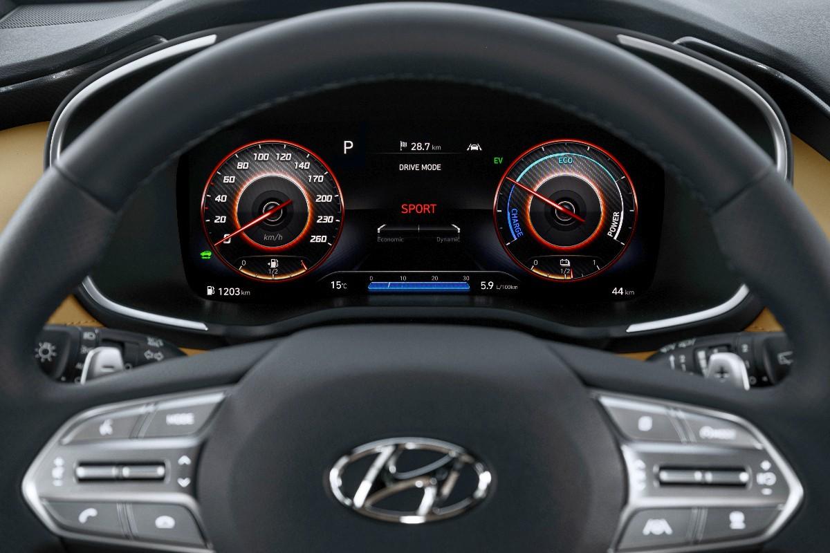 2021 Hyundai Santa Fe Highlander 3.5 9